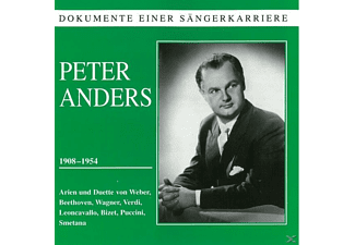 Peter Anders - Dokumente einer Sängerkarriere: Peter Anders - (CD)