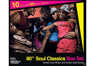 VARIOUS - 80's Soul Classics 10CD Box set (Vol.1 to Vol.5) - (CD)