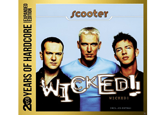 Scooter - 20 YEARS OF HARDCORE - WICKED! - (CD)