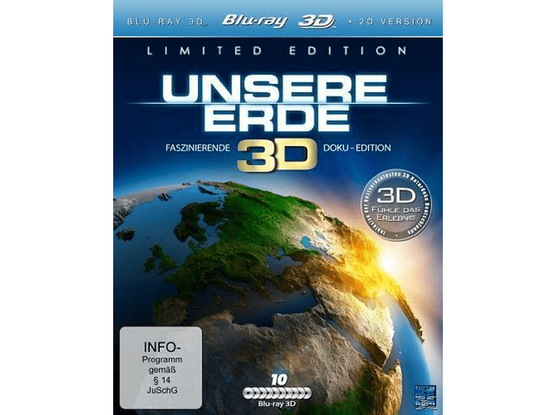 Unsere Erde (Limited Special Edition) [3D Blu-ray (+2D)]