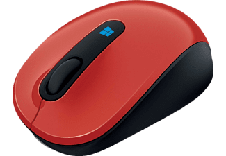 MICROSOFT Sculpt Mobile Mouse Red - (43U-00026)