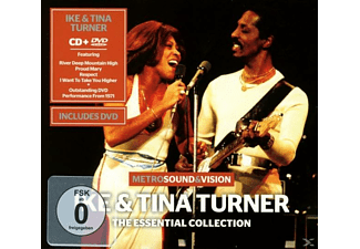Ike And Tina Turner - Essential Collection (Cd+Dvd) - (CD)
