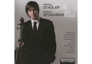 Alexey Stadler, Karina Sposobina - Works for Cello and Piano - (CD)