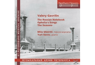 Yuri Serov, Shkirtil,Mila/Serov,Yuri - The Russian Notebook - (CD)