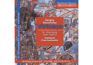 St. Petersburg State Kapella - Virineya Oratorio Suite/Symphonietta - (CD)