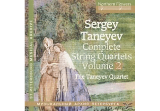 Taneyev Quartet - Complete String Quartets vol.2 - (CD)