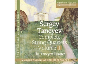 Taneyev Quartet - Complete String Quartets vol.1 - (CD)