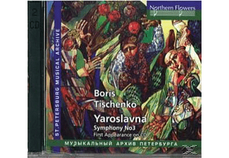Symphony Orchestra And Choir Of Leningrad Maly, Kirov Opera And Ballet Chamber Orchestra - Yaroslavna/Sinf.3 - (CD)