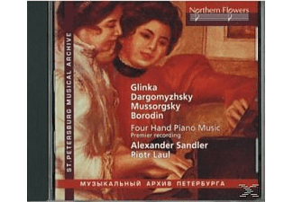 Alexander Sandler, Piotr Laul - Unknown Russian Four Hand Piano Music - (CD)