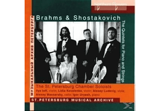 The St. Petersburg Chamber Soloists - Quitets for Piano and Strings - (CD)