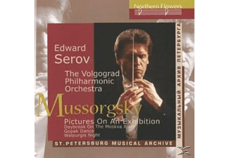 The Volgograd Philharmonic Orchestra, Edward Serov - Pictures at an Exhibition - (CD)