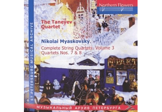 Taneyev Quartet - Complete String Quartets.Vol.3 - (CD)
