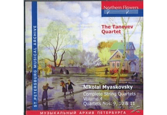 Taneyev Quartet - Complete String Quartets.Vol.4 - (CD)
