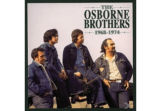 Osborne Brothers - 1968-1974   4-Cd & Book/Buch - (CD)
