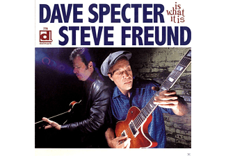 Steve Freund, Dave Specter - Is What It Is - (CD)