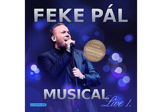 Feke Pál - Musical Live 1. (CD)