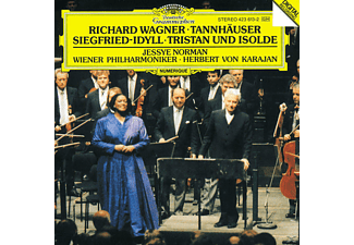 Wpo, Norman/Karajan/WP - Siegfried-Idyll/Tannhäuser-Ouvertüre - (CD)