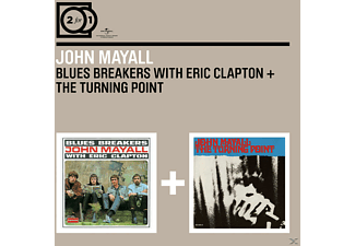 John Mayall, The Bluesbreakers, Eric Clapton - 2 FOR 1 - BLUESBREAKERS WITH ERIC CL./TURNING POIN - (CD)