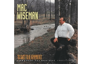 Mac Wiseman - 'tis Sweet To Be Remembered - (CD + Buch)