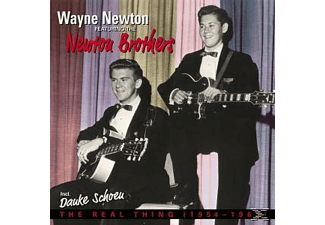Newton, Wayne Featuring Newton Brothers, The - The Real Thing 1954-1963 - (CD)