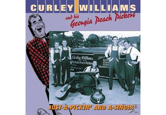 His Georgia - Just A-Pickin  And A-Singin - (CD)