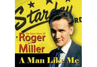 Roger Miller - A Man Like Me - Early Years - (CD)