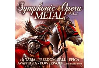 VARIOUS - Symphonic & Opera Metal Vol.1 - (CD)
