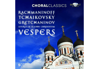 VARIOUS - Vespers & Liturgy-Choral Classics - (CD)