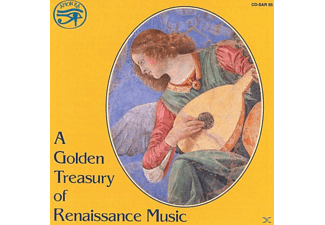 VARIOUS - A Golden Treasury of Renaissance - (CD)