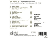 The Playfords - The Hunt Is Up Shakespeare's Songbook [CD]