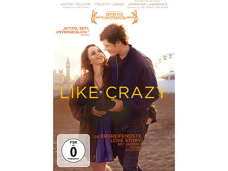 Like Crazy [DVD]