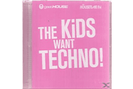 VARIOUS - The Kids Want Techno [CD]