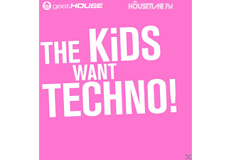 VARIOUS - The Kids Want Techno - (CD)