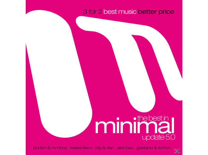 VARIOUS - The Best In Minimal Update 5.0 [CD]