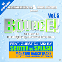 VARIOUS - Brooklyn Bounce Dj & Mental Madness Pres.Bounce 5 [CD]