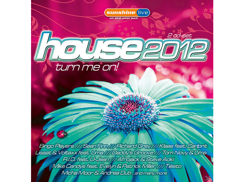 VARIOUS - House 2012: Turn Me On! [CD]