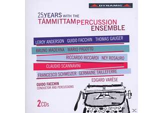 Tammittam Percussion Ensemble/Facchin/Orvieto/Maio - 25 Jahre Tammittam Percussion Ensemble - (CD)