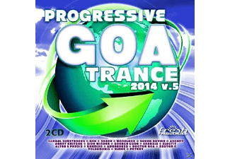 VARIOUS - Progressive Goa Trance 2014 Vol.5 - (CD)