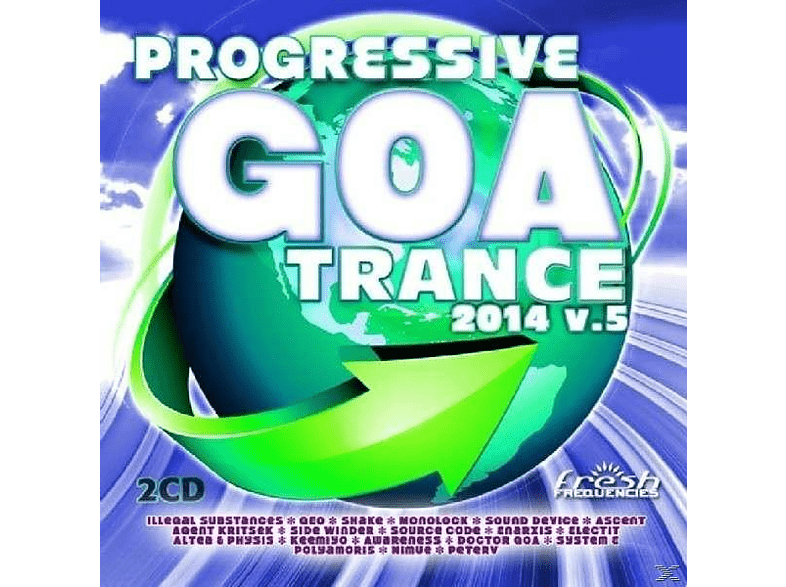 VARIOUS - Progressive Goa Trance 2014 Vol.5 [CD]