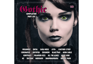 VARIOUS - Gothic Compilation 62 [CD]