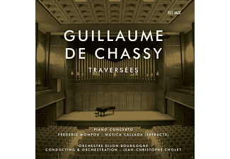 Guillaume De Chassy - Traversees - (CD)
