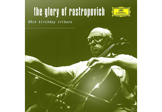 Mstislav Rostropovich, Mstislaw/bp/bso/lp/+ Rostropowitsch - The Glory Of Rostropowitsch - (CD)