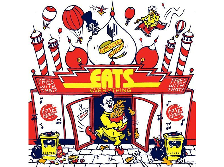 VARIOUS - Eats Everything-Fries With That? [Vinyl]