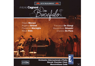 Massimiliano Caldi - Don Bucefalo - (CD)