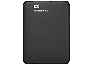 WESTERN DIGITAL Elements Portable 2TB + Cover (WDBHDW0020BBK-EESN)