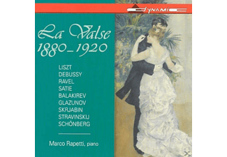 Piano Marco Rapetti - La Valse 1880-1920 - (CD)