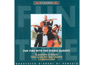 Quartetto D'archi Di Venezia - Fun time with the string quartet - (CD)