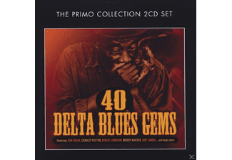 VARIOUS - 40 Delta Blues Gems - (CD)