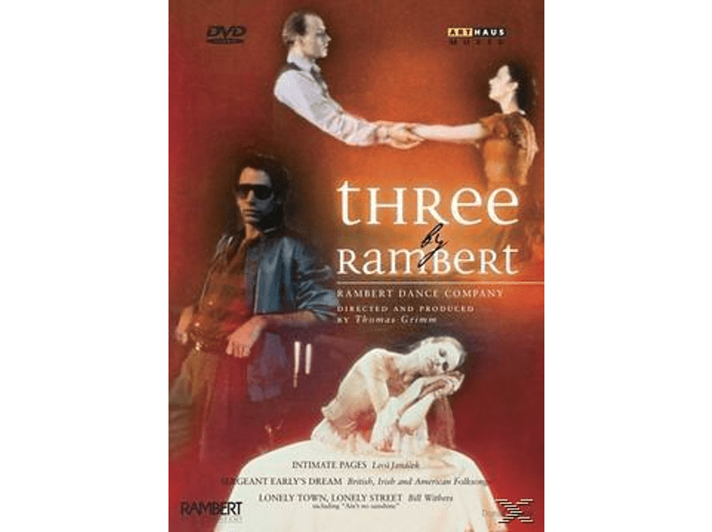 Rambert Dance Company - Three by Rambert [DVD]