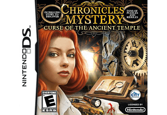 ESEN Chronicles of Mystery Curse Of The Ancient Temple DS Nintendo